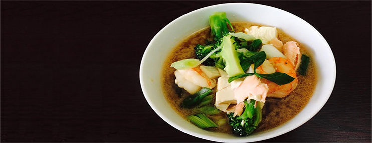Калорийность и рецепт мисо супа с лососем