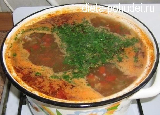 Харчо из баранины - рецепт и калорийность