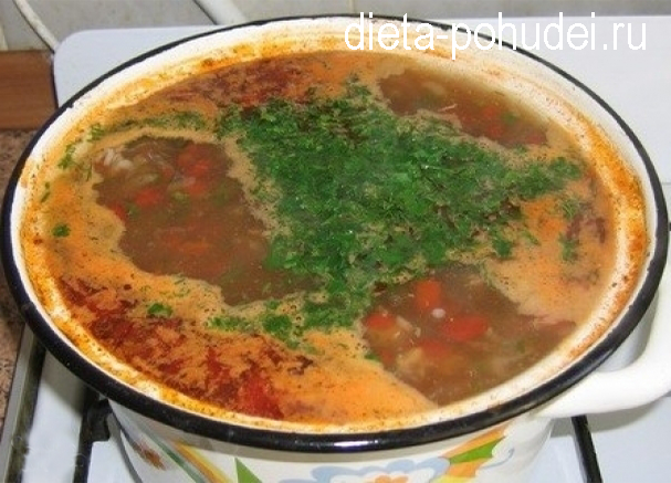 суп харчо рецепт калорийность