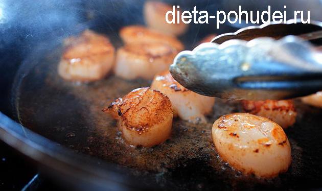Паста с морепродуктами рецепт