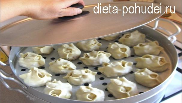 Манты узбекские рецепт и калорийность
