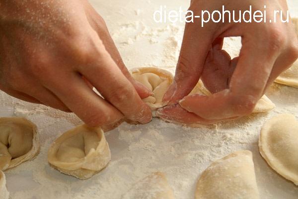 Вкусные домашние пельмени - рецепт и калорийность