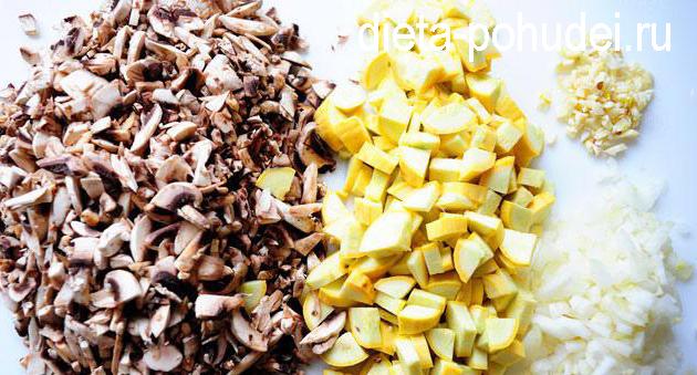 Овощная лазанья рецепт