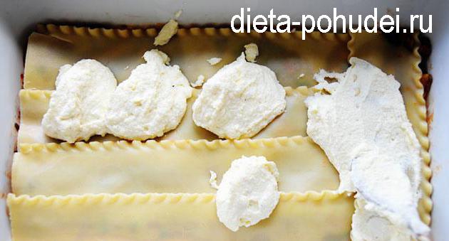 Овощная лазанья - рецепт с фото и калорийность