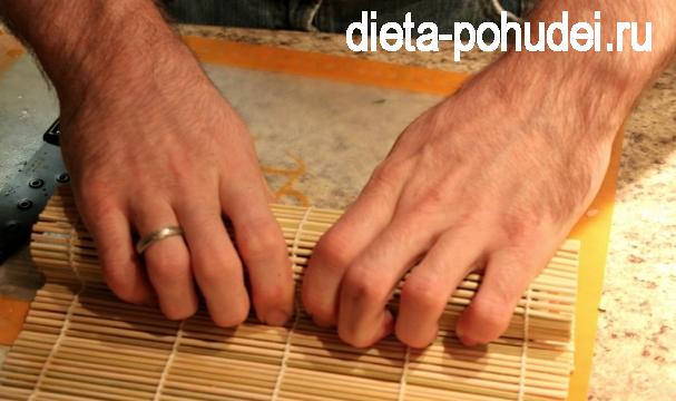 Суши - пошаговый рецепт приготовления и калорийность
