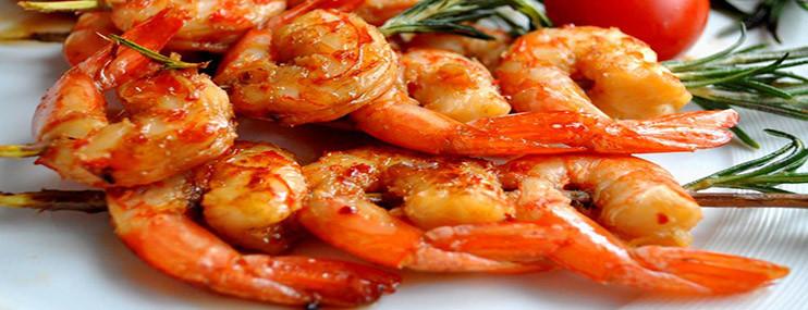 Креветки жареные с луком пореем – рецепт приготовления