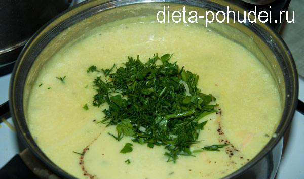 Сырный суп пюре - рецепт с фото и калорийность