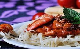 Калорийность спагетти отварных