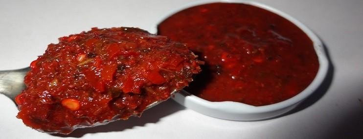 Рецепт вкусной грузинской аджики с чесноком