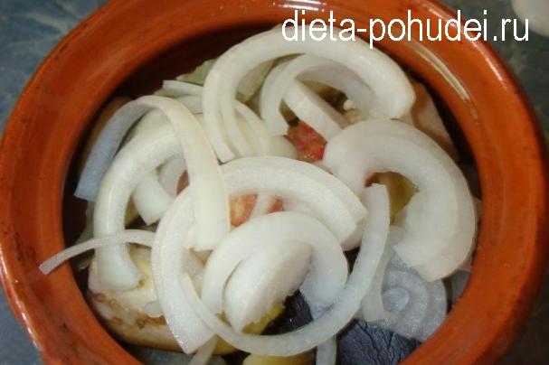 Грузинское чанахи в горшочках - рецепт приготовления
