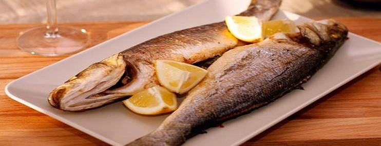 Запеченный сибас в духовке — калорийность и рецепт