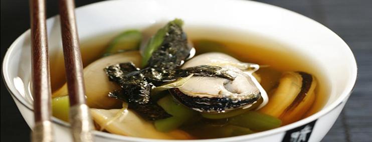 Японский суп с мидиями – рецепт с фото