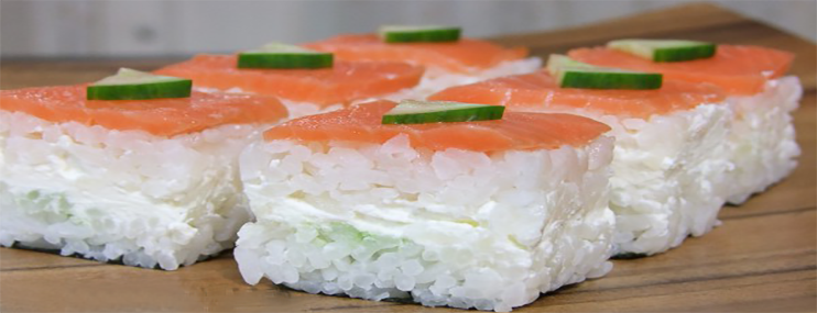 Суши Филадельфия в домашних условиях — рецепт с фото