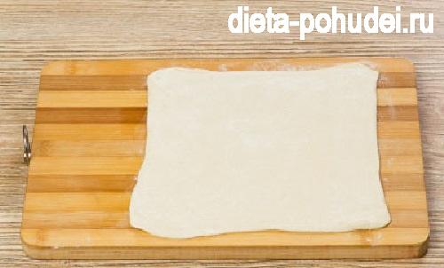 Слоеные хачапури с сыром рецепт