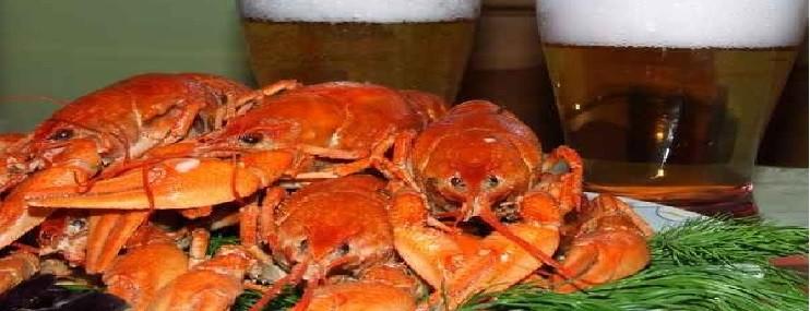 Рецепт приготовления раков и их калорийность