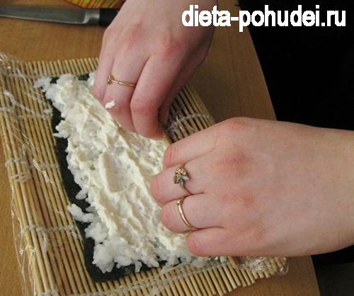 Запеченные роллы - рецепт с фото и калорийность