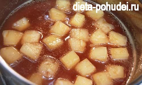 Курица с ананасами - рецепт с фото и калорийность