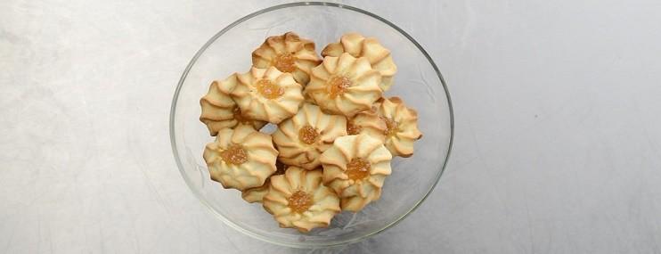 Печенье курабье – рецепт с фото