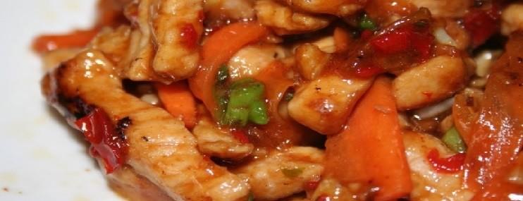 Рецепт и калорийность жареной свинины по китайски