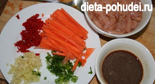 рецепт свинины по китайски
