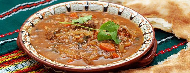 Харчо с говядиной – рецепт и калорийность