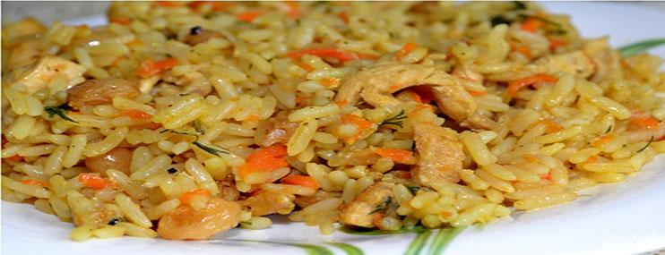 Рецепт приготовления вкусного плова с курицей и его калорийность