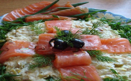 Рецепт салата кальмары креветки