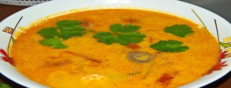 Рецепт тайского супа Том Ям и его калорийность