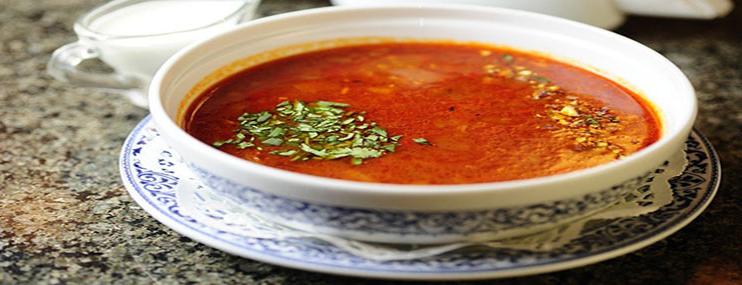 Суп Харчо – рецепт из курицы и калорийность