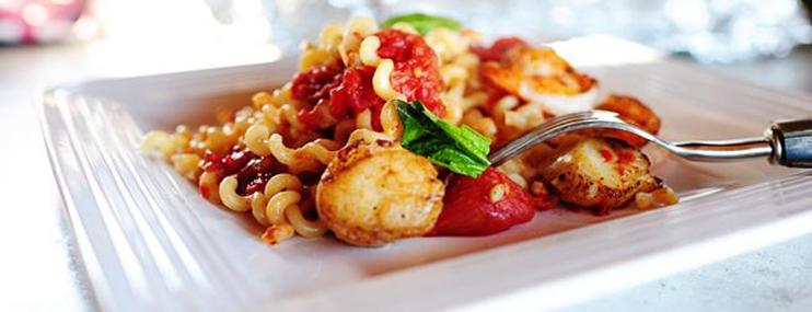 Рецепт пасты с морепродуктами и ее калорийность