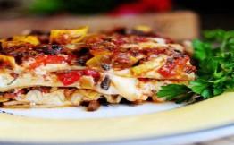 Овощная лазанья рецепт с фото