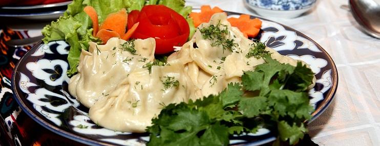 Манты узбекские – рецепт и калорийность