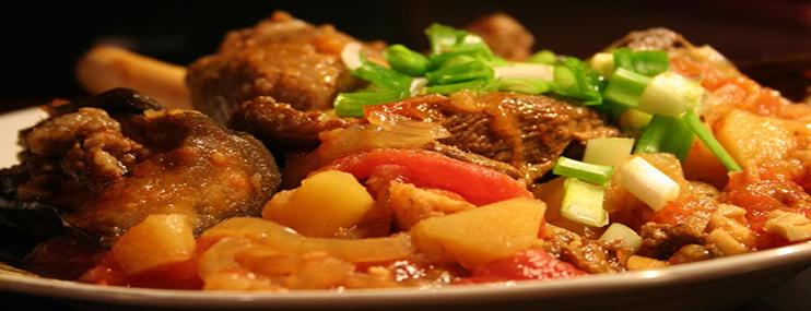 Грузинское чанахи в горшочках – рецепт приготовления
