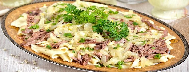 Бешбармак из говядины – рецепт приготовления и калорийность