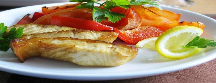 Осетрина запеченная в духовке – калорийность и рецепт