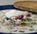 Калорийность и рецепт окрошки на кефире