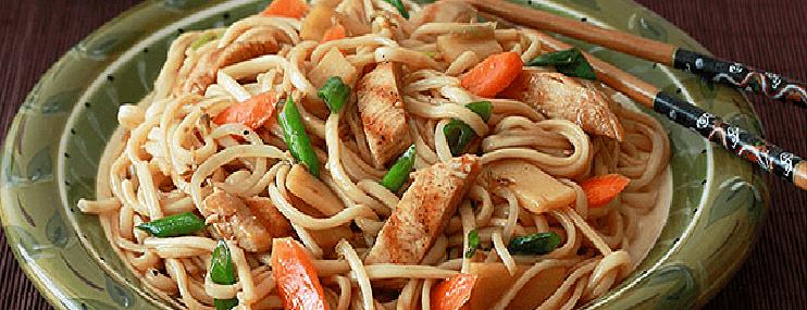 Рецепт приготовления лапши с соусом терияки