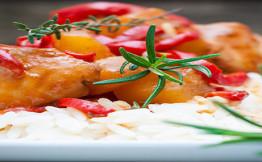 Курица в кисло сладком соусе калорийность