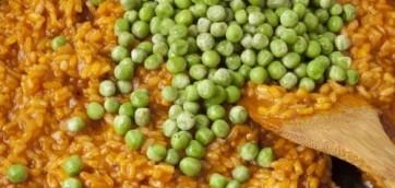 Ризотто с овощами: рецепт и калорийность