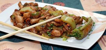 Рецепт и калорийность жареной курицы по-китайски – гунбао